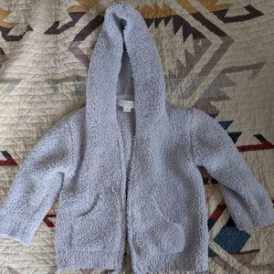 Barefoot Dreams infant zip up